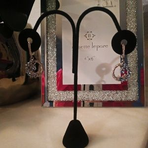 Beautiful silver filled dangly earrings